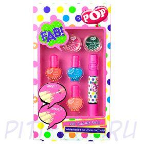 Markwins  POP Набор детской декоративной косметики для ногтей