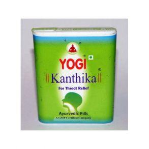 """Гранулы от боли в горле и для свежего дыхания """"Йоги Кантика"""", 70 гранул (Yogi Kanthika)"""