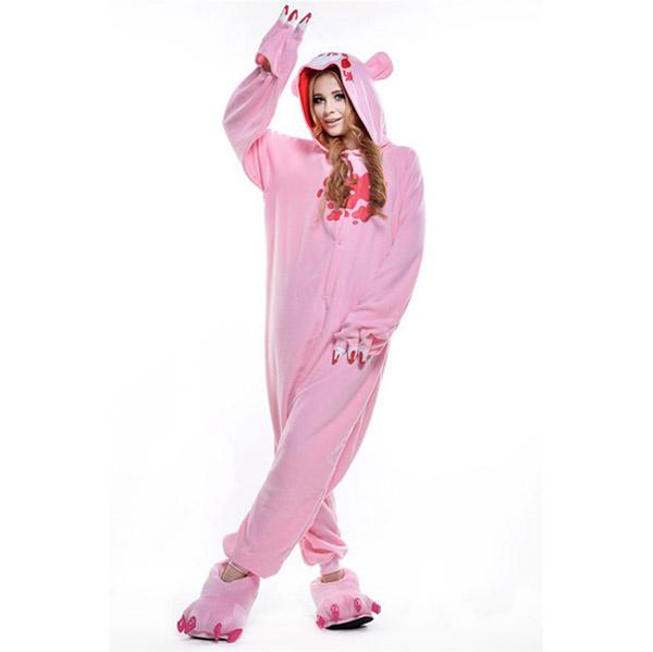 Пижама Кигуруми Мрачный Медведь Розовый_01
