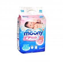Японские подгузники Moony NB 90, 0-5 кг Экспортные