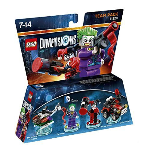 Lego Dimensions 71229 Team Pack (The Joker, Harley Quinn)