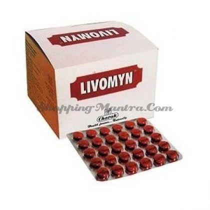 Ливомин гепатопротекторный препарат Чарак Фарма | Charak Pharma Livomyn Tablet