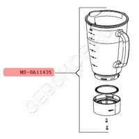 Чаша блендера Мулинекс ( MOULINEX) LM310, TEFAL BL310, BL311, MS-0A11435