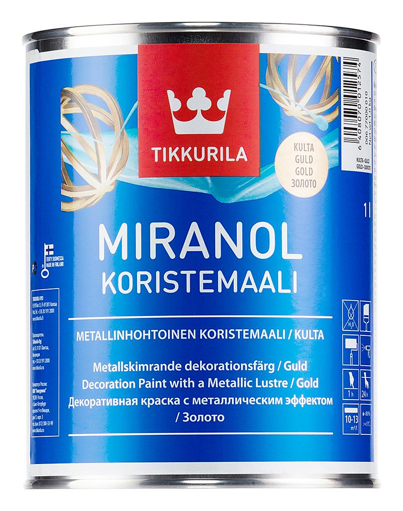 Декоративная краска - Miranol koristemaali