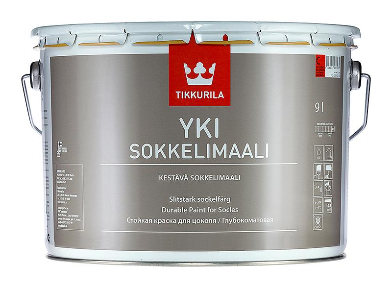 Краска для цоколя Tikkurila Yki Юки
