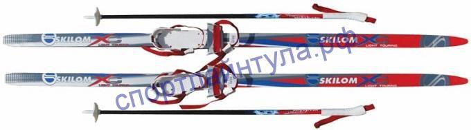 Комплект лыж Комби