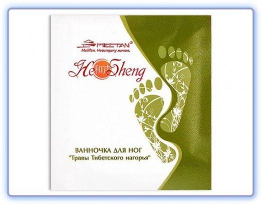 Детоксикационная ванночка для ног Травы Тибетского нагорья