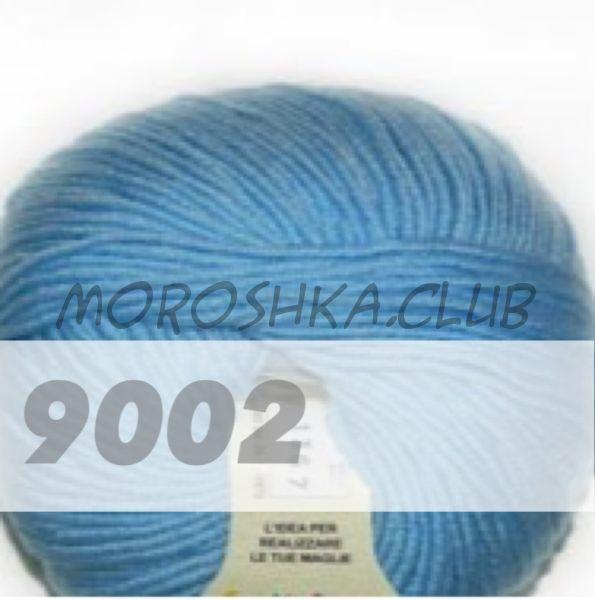 Голубой Martine BBB (цвет 9002), упаковка 10 мотков