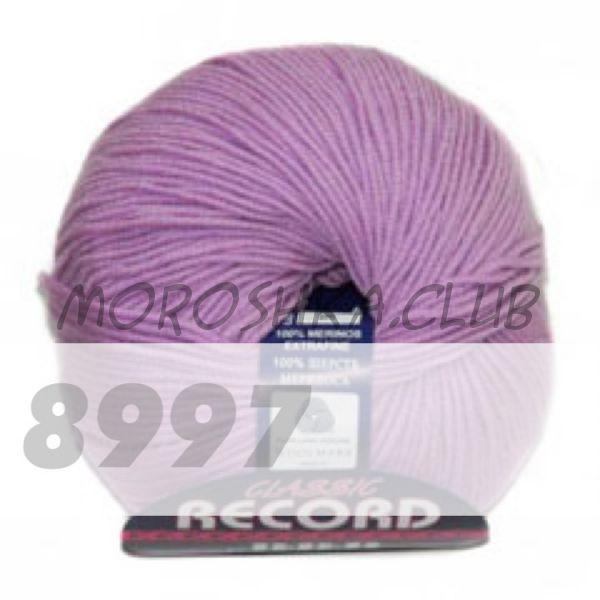 Светло-фиолетовый Record BBB (цвет 8997), упаковка 10 мотков