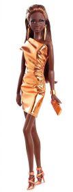 Кукла Барби Bronze Dress, серия Городской блеск, BARBIE