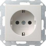 Накладки Gira System 55 Белый глянцевый