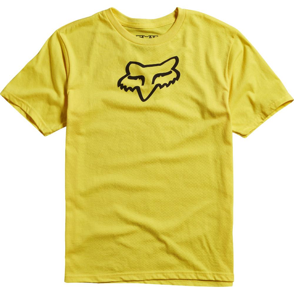 Fox - Youth Legacy SS Tee футболка подростковая, желтая