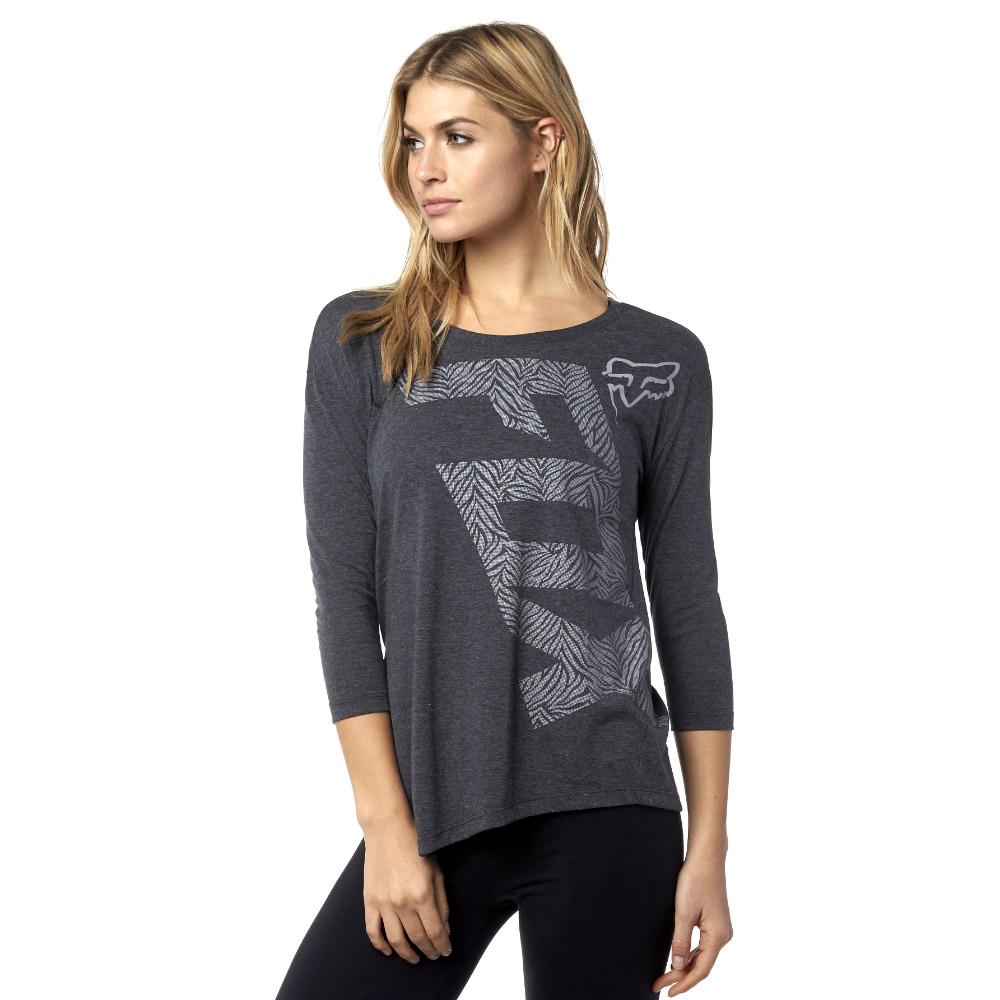 Fox - Angled LS Tee Splash футболка женская, черная