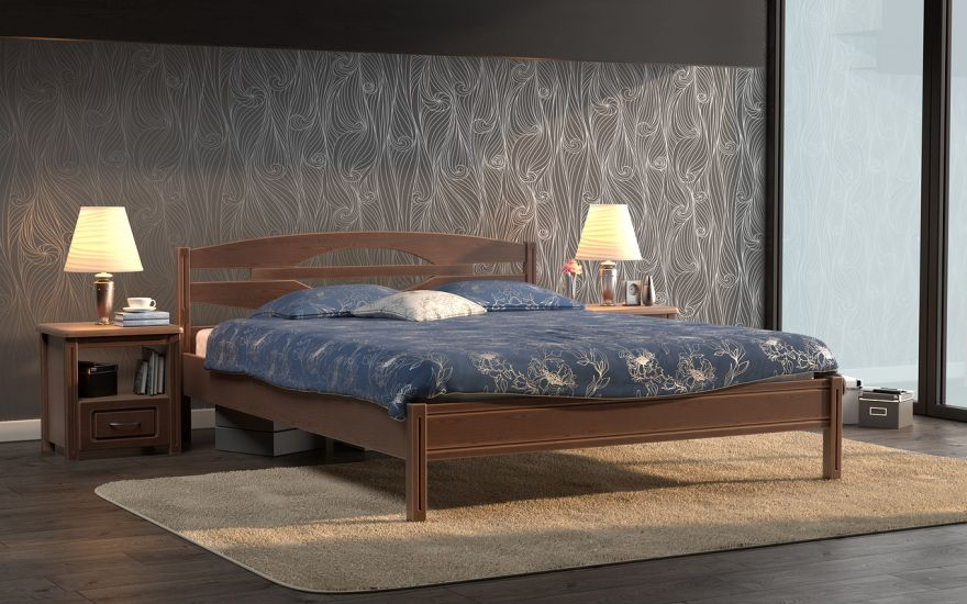 Кровать Валенсия (массив бука) | DreamLine