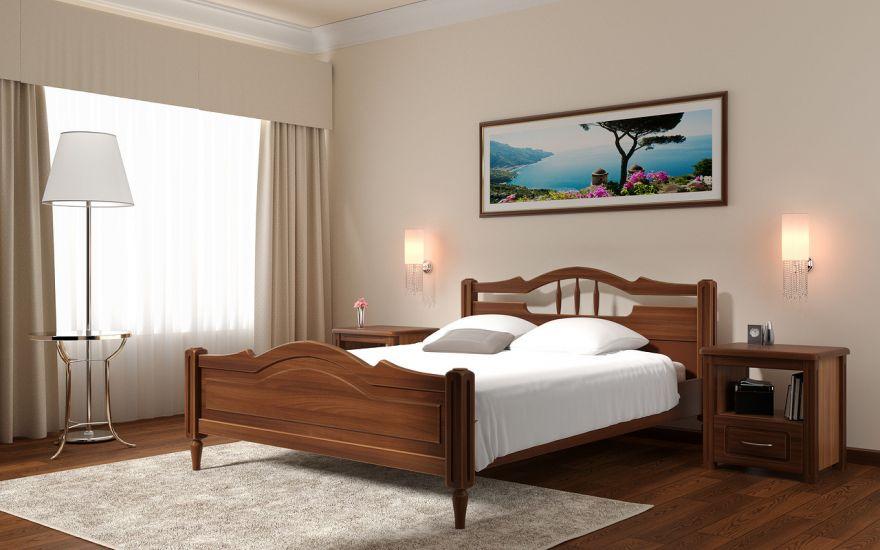 Кровать Луиза (массив ясеня) | DreamLine