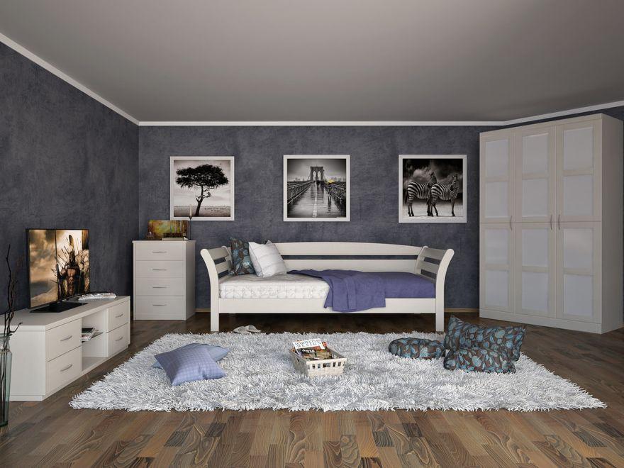 Кровать-тахта Бриз (массив бука) | DreamLine