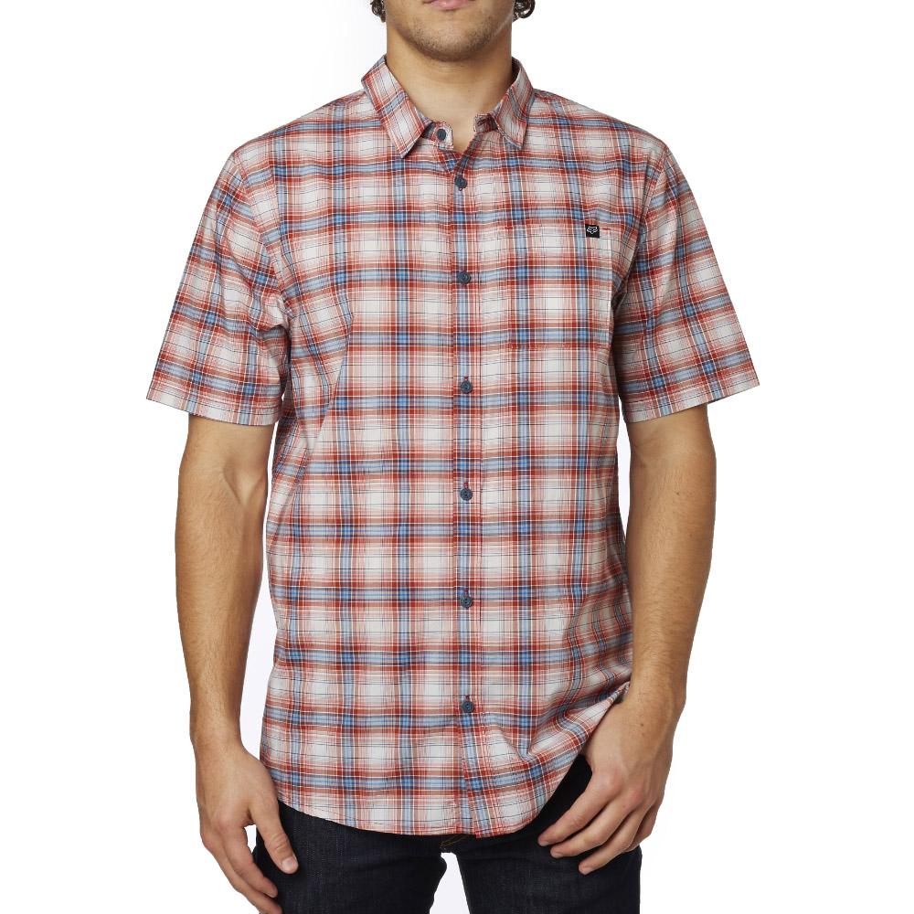 Fox - Krill SS Woven рубашка, красная