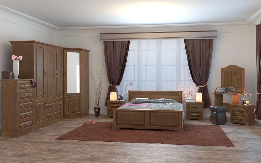 Кровать Эдем Лайт (массив ясеня) | DreamLine