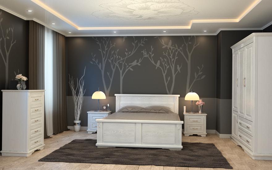 Кровать Палермо (массив бука) | DreamLine