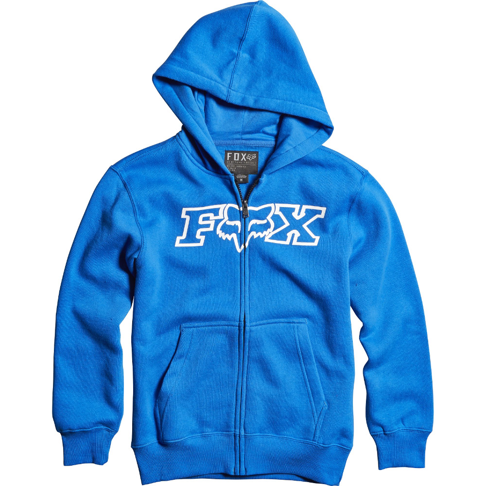Fox - Youth Legacy Zip Fleece толстовка подростковая, синяя