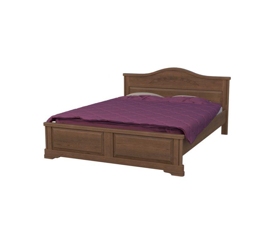 Кровать Эдем 1 (массив бука) | DreamLine