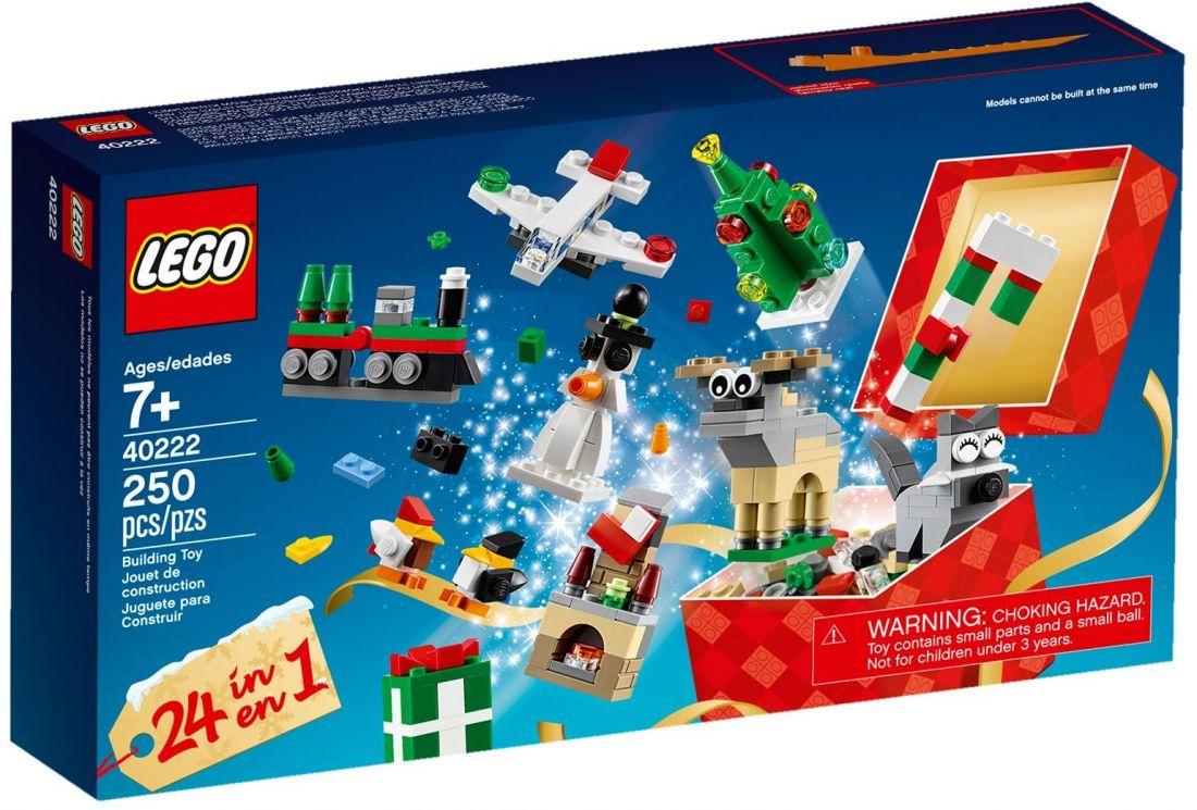 Рождественские подарки. Конструктор ЛЕГО 40222