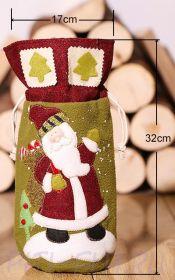 Мешочек подарочный Дед Мороз