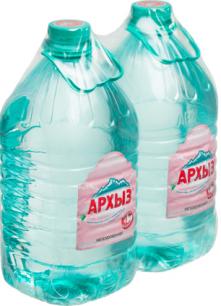 Вода Архыз 2 бутыли по 5 литров
