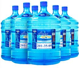 Доставка воды Аква чистая 6 бутылей по 19л.