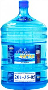 Доставка воды Аква чистая 1 бутыль по 19л.
