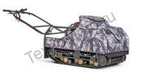 SnowDog Standard S-R13M-WR полноразмерный мотобуксировщик с двигателем RATO мощностью 13 л. с., и вариатором Сафари