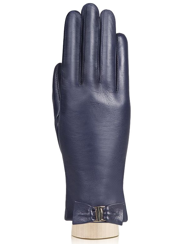 Купить женские кожаные перчатки LABBRA LB-0305 Голубой в официальном интернет-магазине