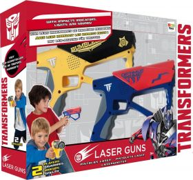 Набор лазерного оружия на батарейках, TRANSFORMERS