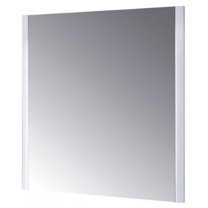 Зеркало в раме Dreja Wind 105 s, белый глянец