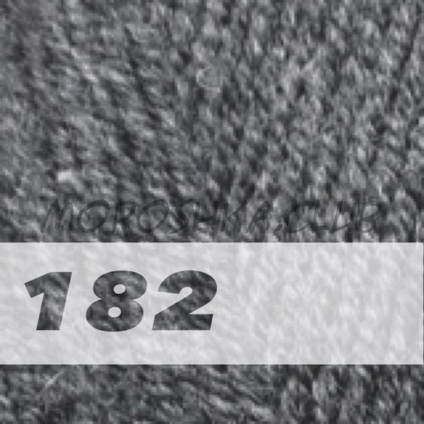 Средне-серый меланж Lanagold Alize (цвет 182)