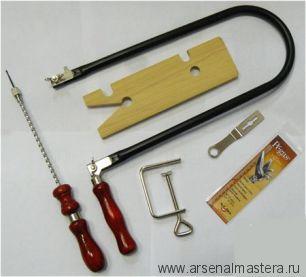 Набор для выпиливания SMSA (лобзик, пилки, столик, дрель, струбцина) Pegas PS 49.738 М00006298