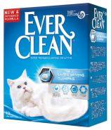 EVER CLEAN Unscented Extra Strong Комкующийся наполнитель без ароматизатора (10 л)