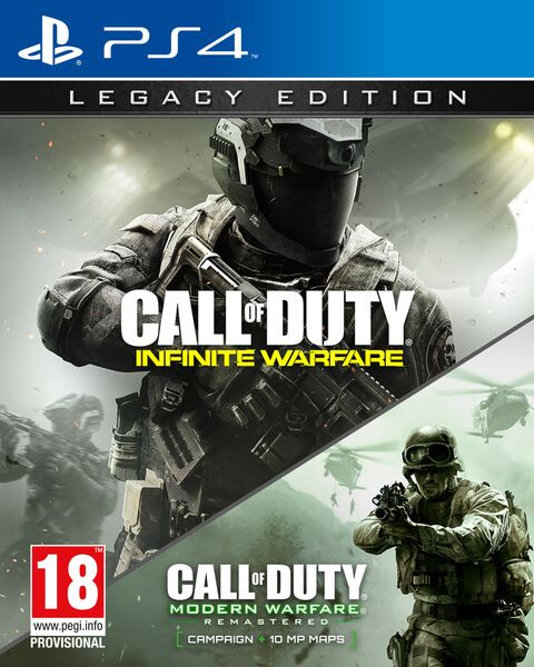 Игра Call of Duty: Infinite Warfare Legacy Edition (PS4, русская версия)