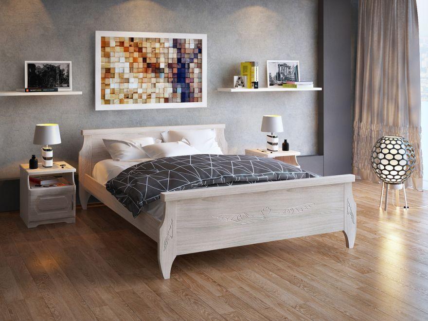 Кровать Ника (массив ясеня) | DreamLine