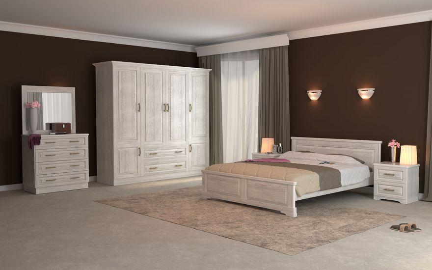 Кровать Эдем Лайт 1 (массив бука) | DreamLine