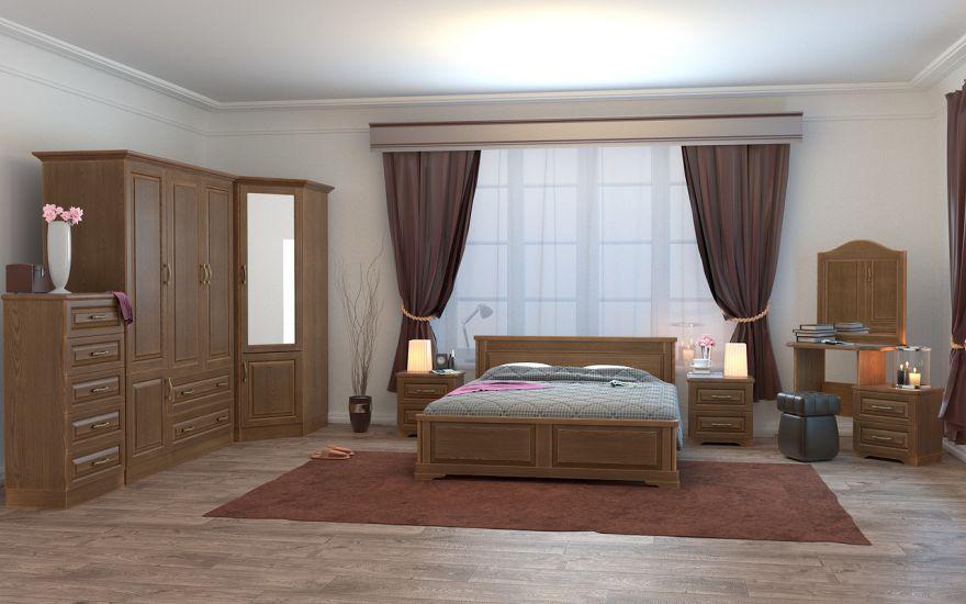 Кровать Эдем Лайт 1 (массив ясеня) | DreamLine
