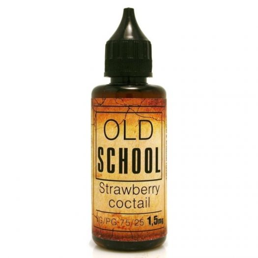 Жидкость OLD SCHOOL Strawberry Coctale / Олд Скул