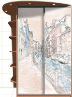 наклейка на шкаф - Венеция 1