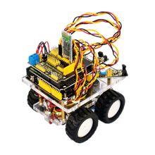 Arduino набор для сборки  управляемой по Bluetooth машинки.
