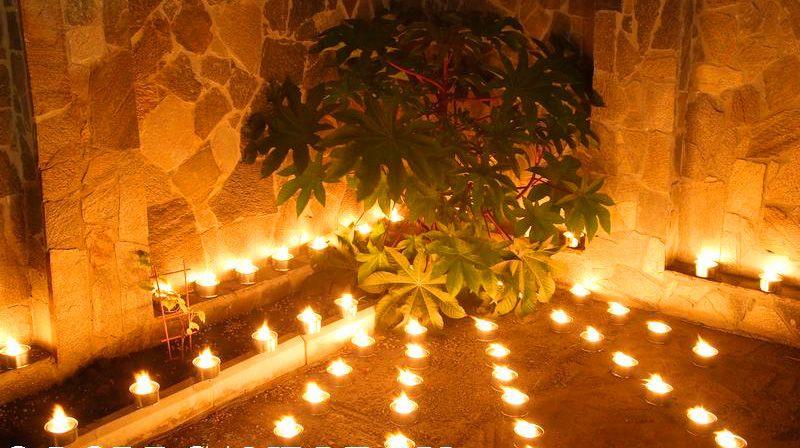 Свечи уличные 6 шт