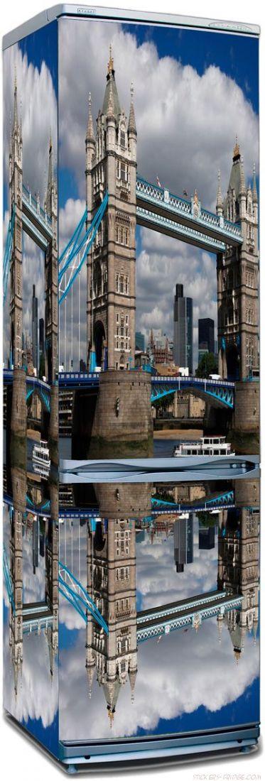 наклейки на холодильник - Лондонский мост