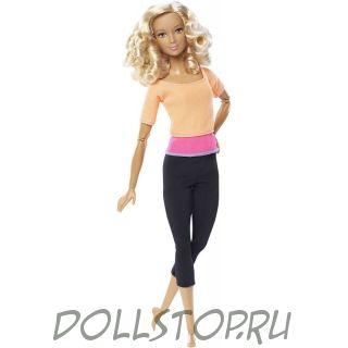 Игровая Барби Безграничные движения фитнесс - Barbie Doll Made to move Fitness 2016