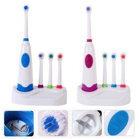 Электрическая зубная щетка 4 насадками