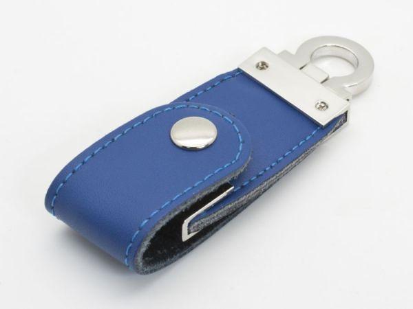 16GB USB3.0-флэш накопитель Apexto U503C гладкая синяя кожа OEM