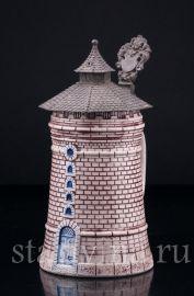 """Пивная кружка """"Башня"""" 1/2 л, Theodor Wieseler, Германия, кон.19 в"""